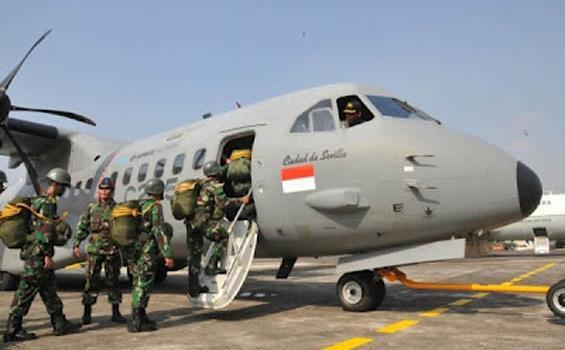 Dahlan CN-295-Militer