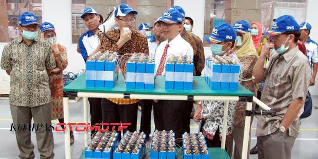 Dahlan iskan - bateray Lithium