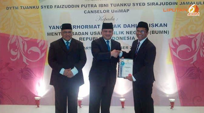 Dahlan iskan - profesor Malaysia