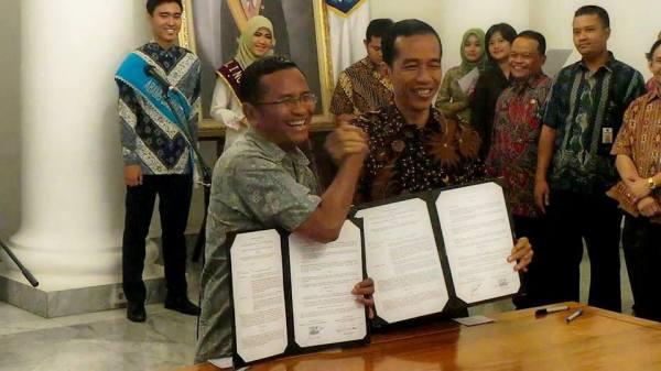 Dahlan Iskan - Jokowi