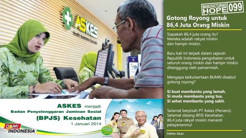 MH99 - Gotong Royong untuk 86,4 Juta Orang Miskin