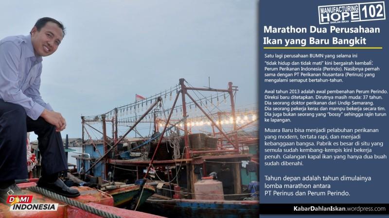 MH102 - Marathon Dua Perusahaan Ikan yang Baru Bangkit