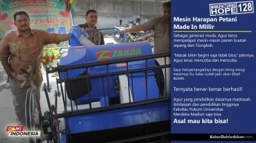 MH128 - Dari Mitsui Menjadi Milik Anak NegeriMesin Harapan Petani Made In Mlilir